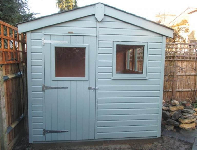 Superior Shed with Full Insulation - Summerstown