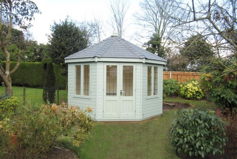 Wiveton Summerhouse with a Heater - Iver