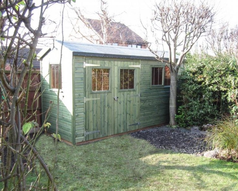 Superior Shed with Floor Insulation - Wilford