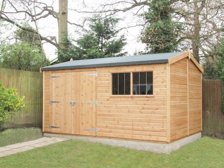Superior Shed with Security Pack - Burgess Hill