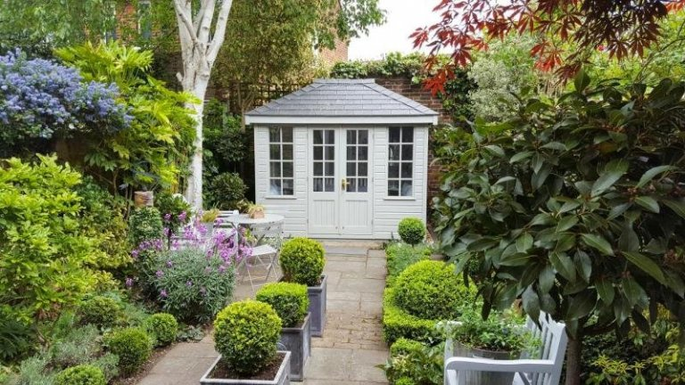 Cley Summerhouse in Neutral Colours - East Sheen