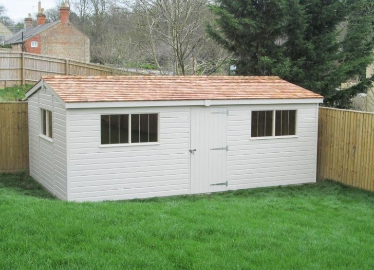 Superior Shed with Internal Access Partition - Bladon