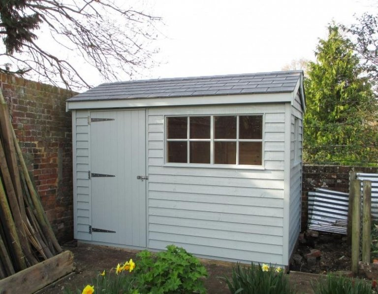 Superior Shed with Weatherboard Cladding - Urchfont