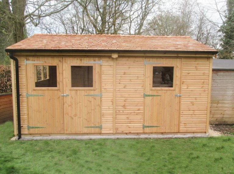 Superior Shed with Partition - Bibury