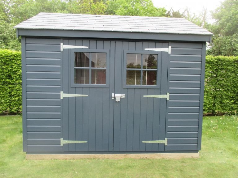 Superior Shed with Security Pack