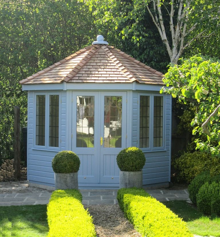 Wiveton Summerhouse in Sundrenched Blue