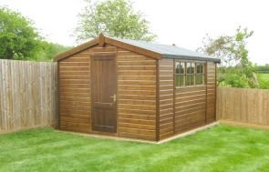 Superior Shed in Walnut