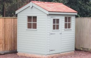 Superior Shed with Cedar Shingles