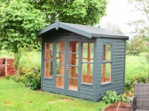 Blakeney Summerhouse with Extra Windows
