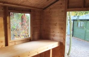 Classic Shed with Workbench
