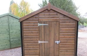 Superior Shed in Walnut Sikkens
