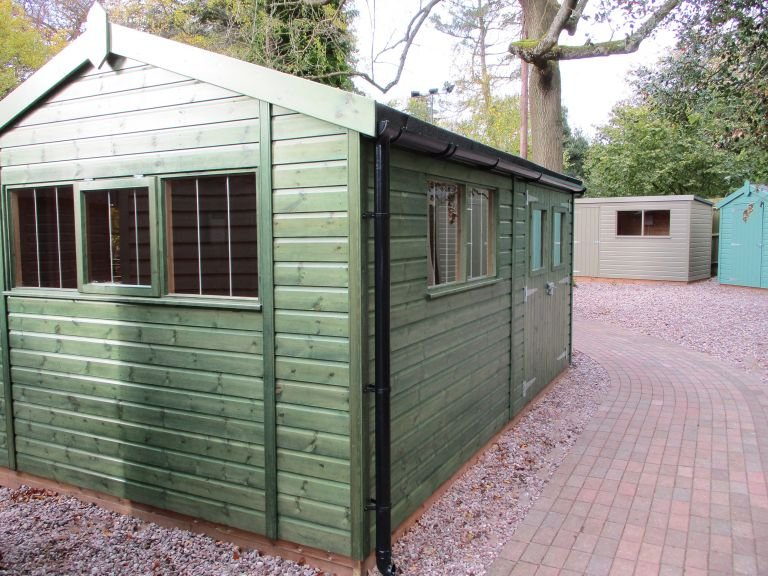 Superior Shed - 3.0m x 4.8m (10ft x 16ft)