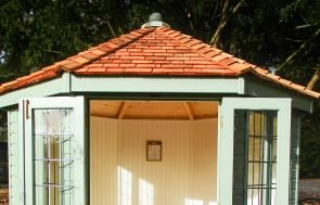 Wiveton Summerhouse with Painted Matchboarding
