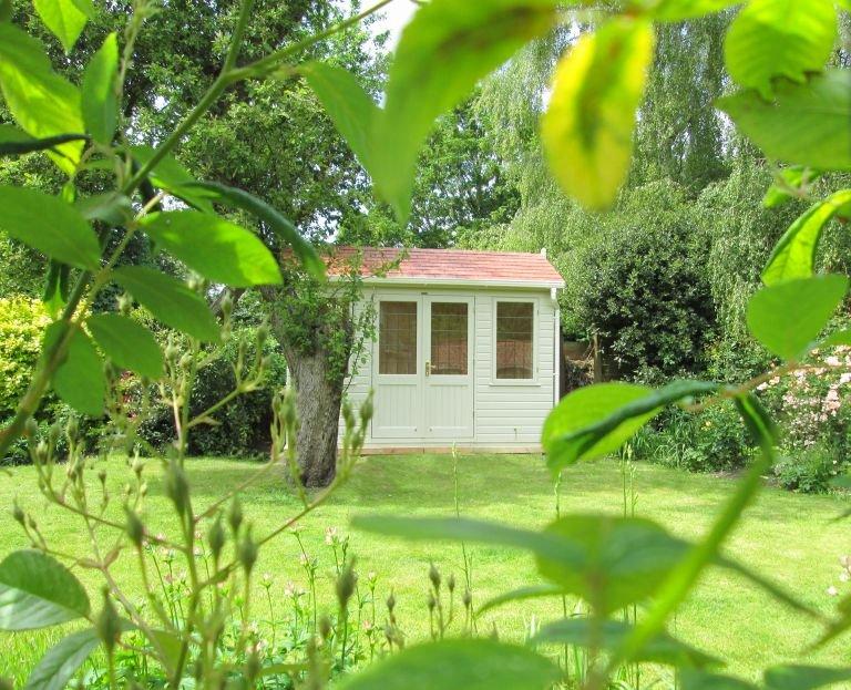 Langham Studio with Leaded Windows