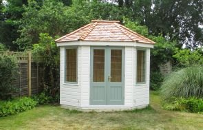 Two-toned Wiveton Summerhouse
