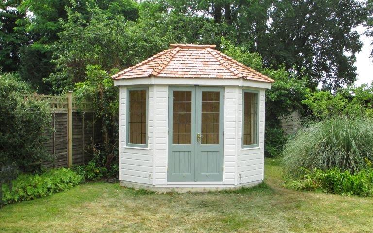 Two-toned Wiveton Summerhouse