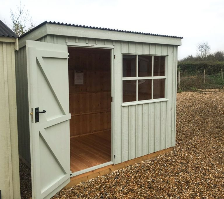 National Trust Oxburgh Shed - 1.8m x 2.4m (6ft x 8ft)
