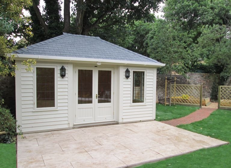 Garden Room with Inset Doors