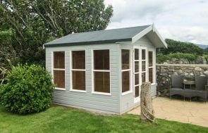 Blakeney Summerhouse in Pebble and Ivory