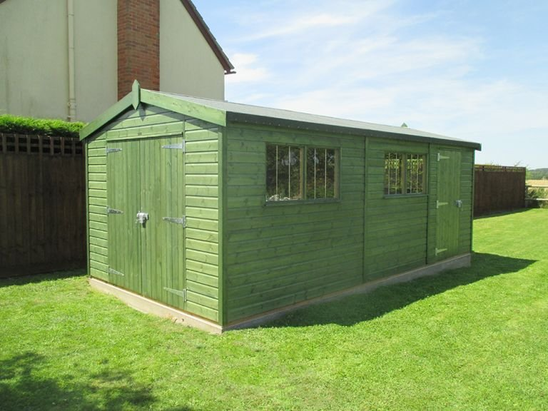 Superior Shed with Partition