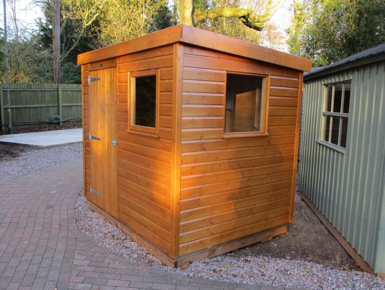 Superior Shed in Teak