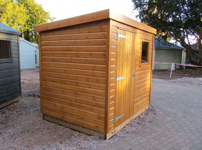 Superior Shed with a  Pent Roof