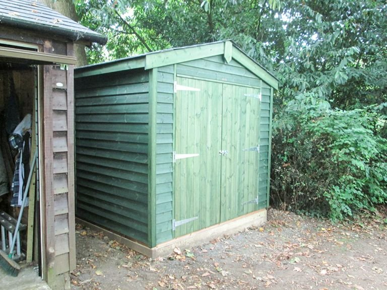 Superior Shed with no Windows