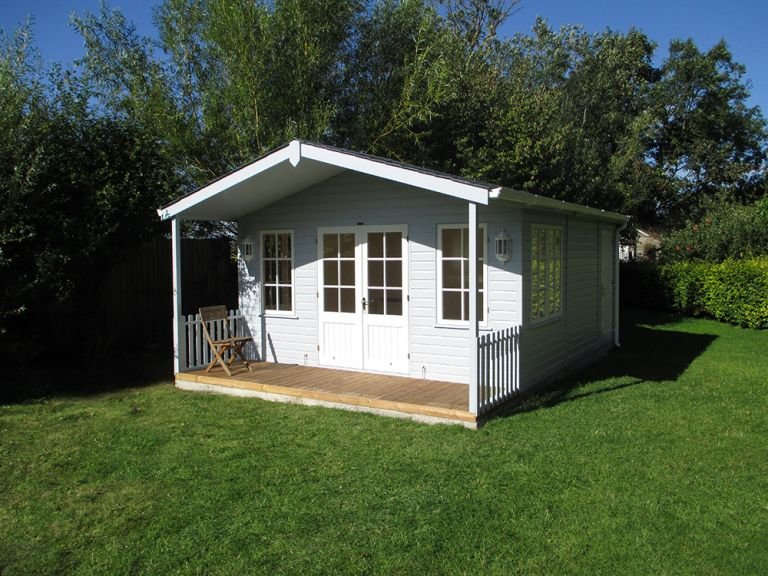 Morston Summerhouse with Storage partition