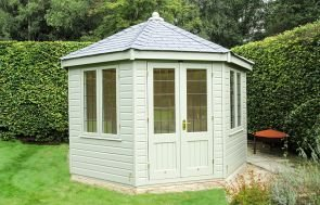 Wiveton Summerhouse in French Gray from the Farrow & Ball Paint System
