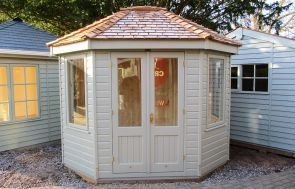 Wiveton Summerhouse in F&B Light Gray