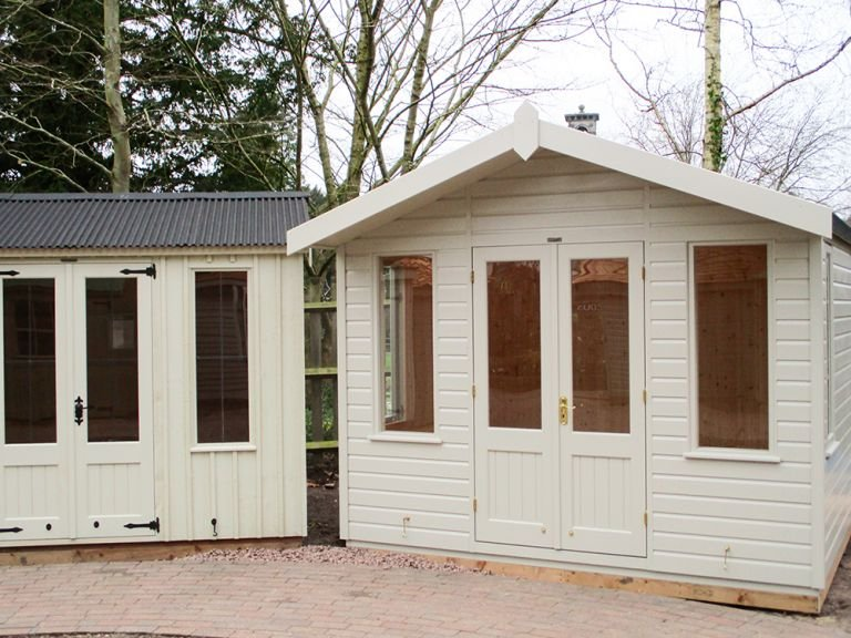 Blakeney Summerhouse in F&B Paint