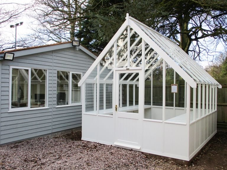 Exterior Paint System Ivory 3.0 x 3.6m Greenhouse