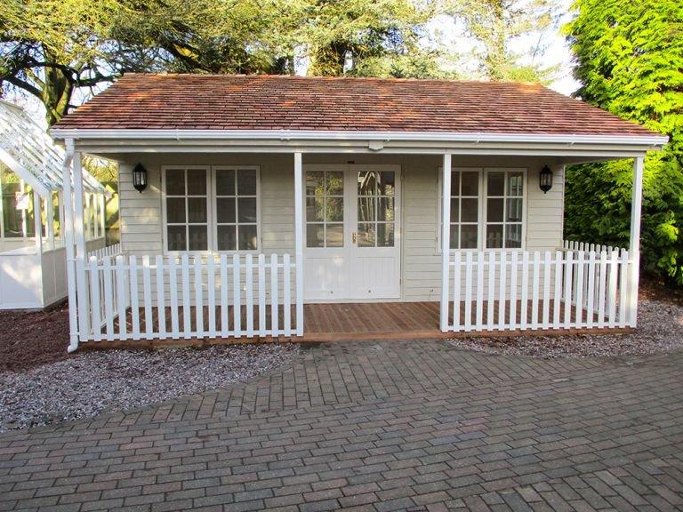 Pavilion Garden Room - 6.0m x 6.0m (20ft x 20ft)
