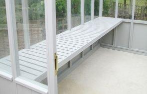 Greenhouse with Concrete Floor