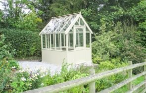 Greenhouse in Taupe from our Exterior Paint System