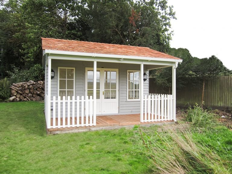 4.2 x 4.2m Garden Room with Veranda