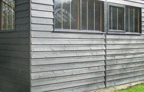 Garage - weatherboard