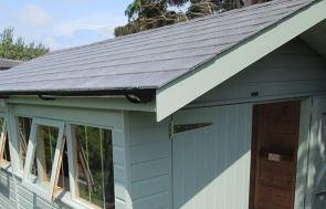 Garage - Grey Slate Tiles