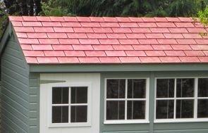 Garage - Terracotta tiles