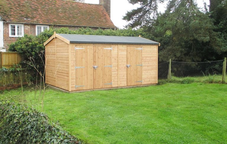 Superior Shed with Two Doors Sets