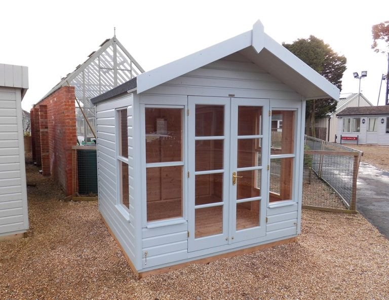 Blakeney Summerhouse in Verdigris Paint