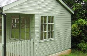 Pavilion Garden Room - shiplap