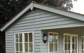 Pavilion Garden Room - weatherboard