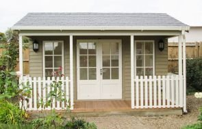 Pavilion Garden Room - double doors