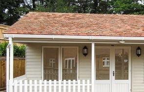 Pavilion Garden Room - Cedar Shingles