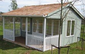 Pavilion Garden Room - Leaded Windows
