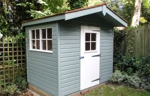 Two-tone Superior Shed