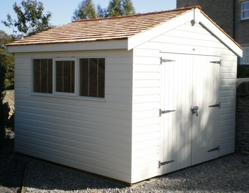 3.0 x 3.0m Superior Shed 2.0m eaves