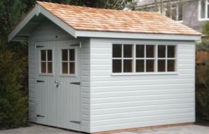 2.4 x 3.0m Superior Shed 2.0m eaves