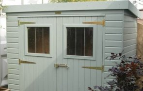 1.2 x 2.4m Superior Shed 1.85m eaves